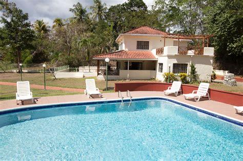 houses in tobago with pool mahogany villa tobago