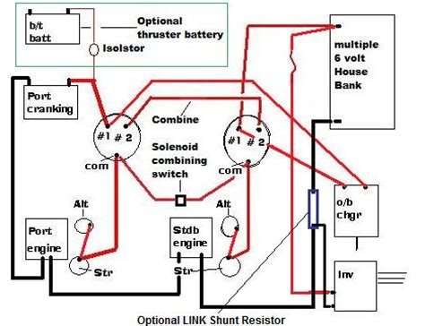 boat battery charging system diagram question about charging system