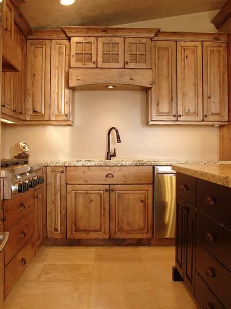 Kitchen Cabinets Knotty Alder by Lec Cabinets Rustic Knotty Alder Cabinets