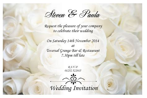 what to on your wedding invitation wedding card invitation theruntime