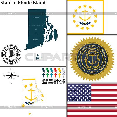 usa rhode island clip art free vector in open office map of state rhode island usa stock vector graphics