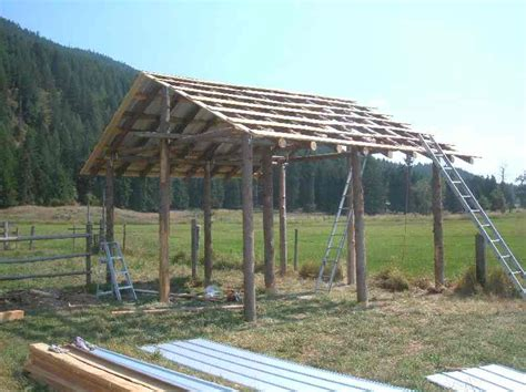 Shed Roof Pole Barn by Shed Roof Pole Building Famin