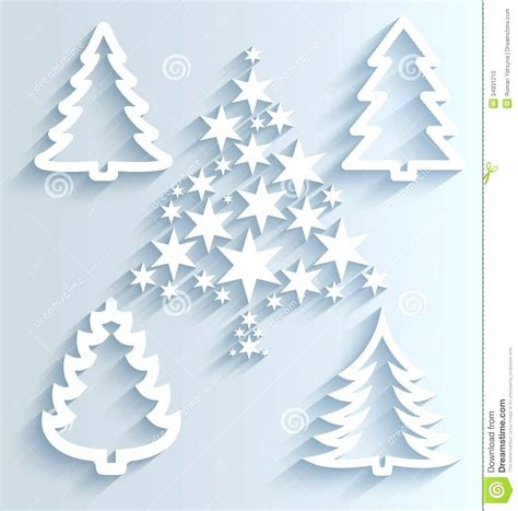 tree ornament templates paper tree template