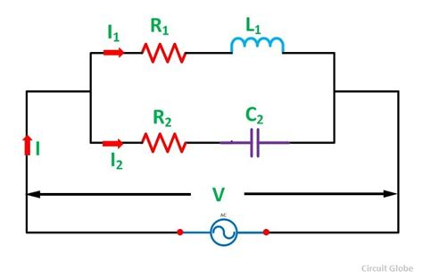 parallel circuits math problems phasor method for solving parallel circuits circuit globe