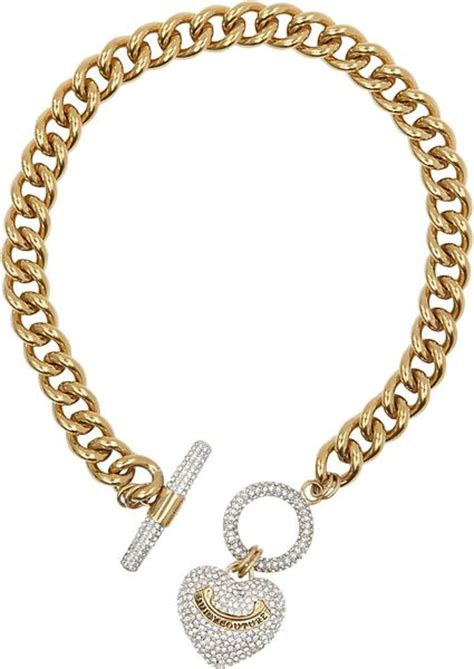 couture toggle necklace in gold lyst