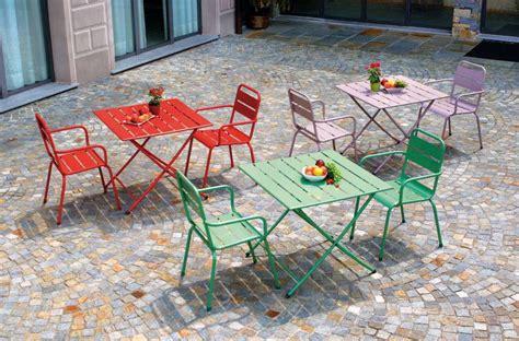 sedie e tavolo da giardino arredi giardino in ferro 2016 foto 20 30 design mag