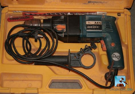 Aeg Sb 630 Re 1 drill aeg sb2e 650 r for sale on clicpublic be