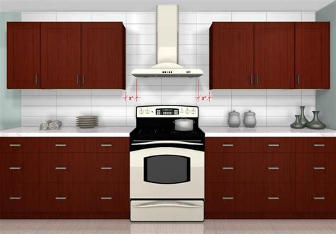 how much space between stove and cabinet common kitchen design mistakes what s the appropriate