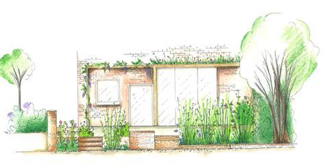 terrace garden section portfolio helen houghton