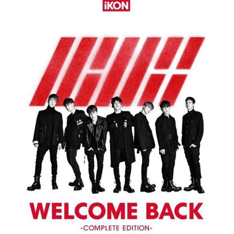Ikon Album Welcome Back j pop welcome back complete edition cd dvd ikon