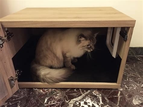 gatto mobili mobile copri lettiera per gatti litter box hider