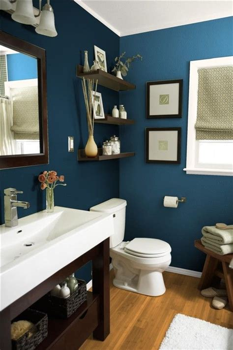Bathroom Paint Ideas Blue by 17 Best Ideas About Blue Bathrooms On Pinterest Diy