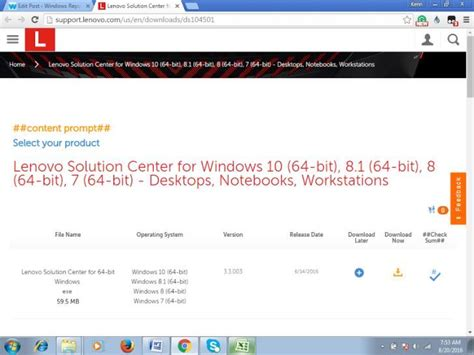 how can you tell if a lenovo contains malware download and use lenovo solution center for windows 10
