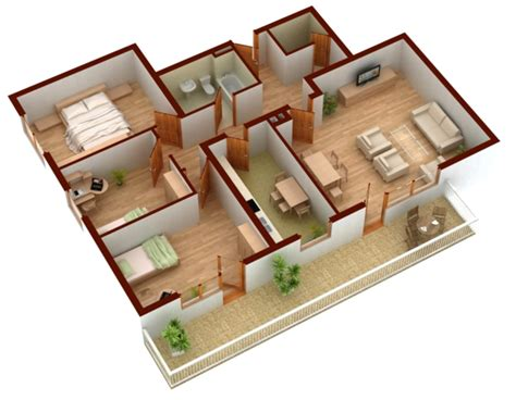 Inard Floor Plan by Raumplaner Kostenlose 3 Raumplaner