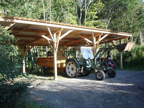charpente hangar bois construction bois loreh