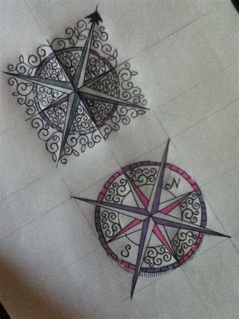 compass tattoo pin compass tattoo designs let s get inked pinterest