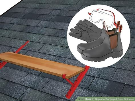 load shingles to roof how to replace damaged roof shingles 12 steps with pictures