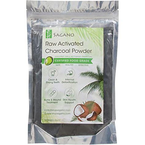 activated charcoal powder  sagano premium food grade