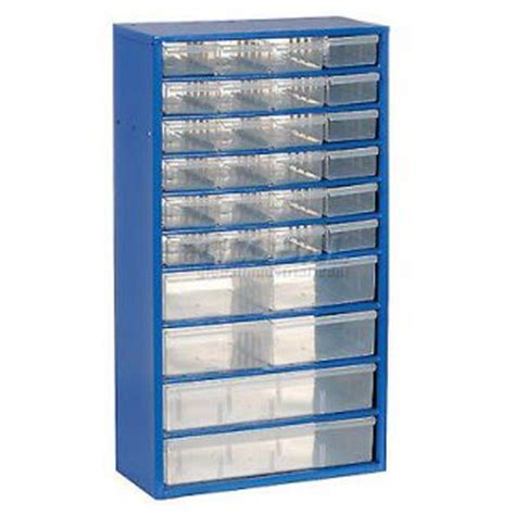blue metal storage drawer cabinet 48 drawers small parts