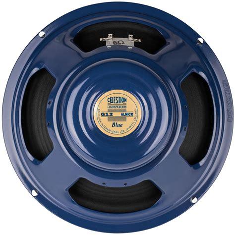 12 guitar speaker celestion g12 blue 12 quot 8 ohm alnico guitar speaker 15w