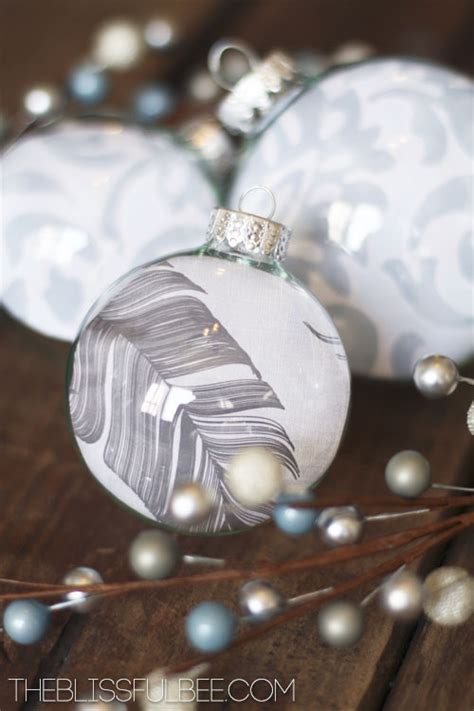 diy fillable christmas ornaments the blissful bee