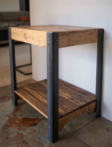 metal legs for wood table best 25 pallet side table ideas on diy living