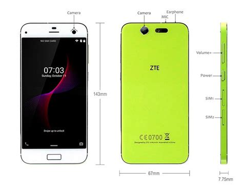buy blade zte blade s7 price and specifications