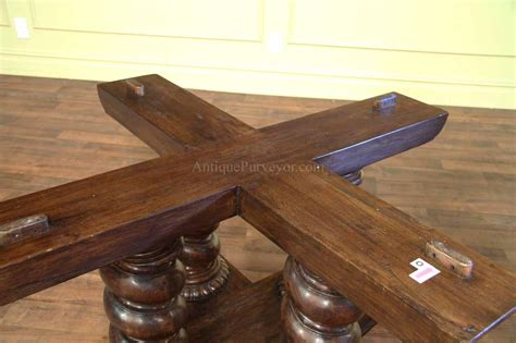 Rustic Walnut Dining Table Large Walnut Dining Table Rustic Casual Finish