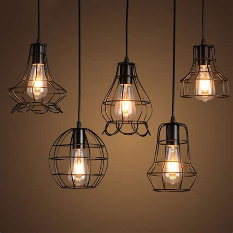 wire cage pendant light wire cage light fixtures 28 images klemon wire cage