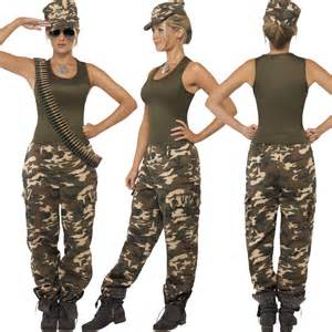 army military force uniform new fancy dress costume