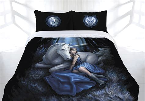 anne stokes bedding anne stokes blue moon doona quilt cover bed set double