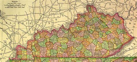 california ky map kentucky map addendum 1895 maps