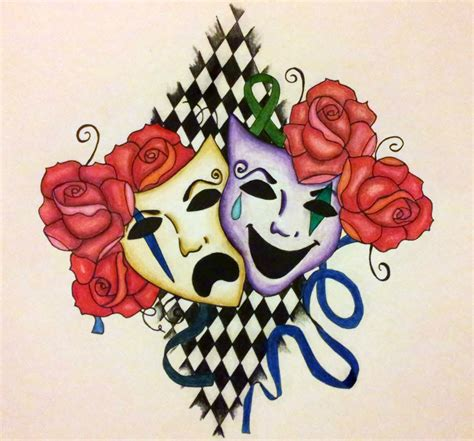 bipolar tattoo designs chasing ghosts bipolar design