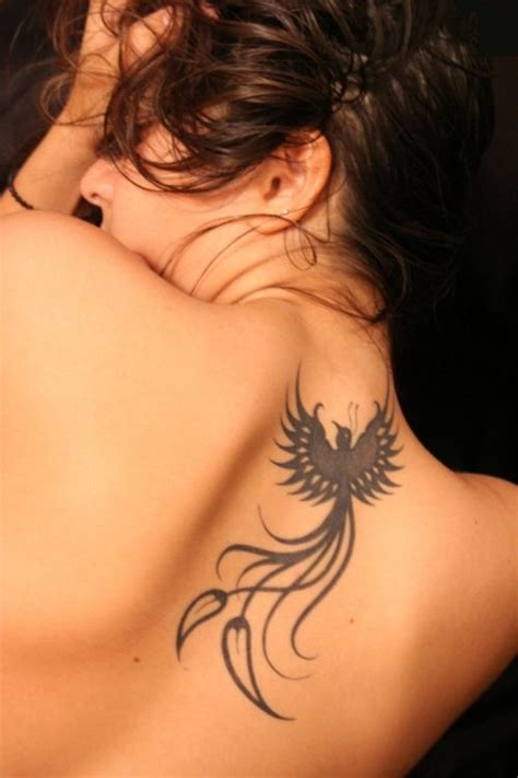 phoenix bird tribal tattoo bird and piercing