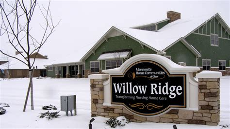 Willow Crest Nursing Home by Willow Ridge Opens A Transformation In Nursing Care