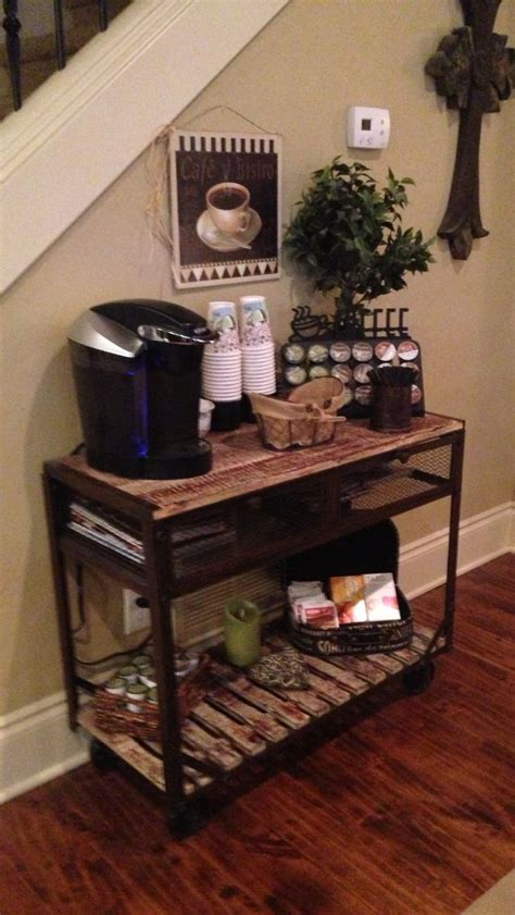 the living room coffee house coffee bar in the living room coffee corner pinterest