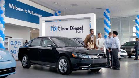 volkswagen passat tdi clean diesel event tv commercial