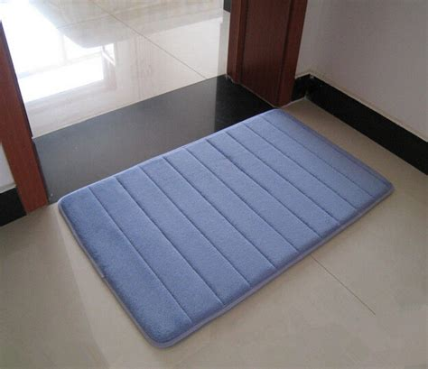 bathroom rugs with non skid backing free shipping foam stripe bathroom shower mat non slip
