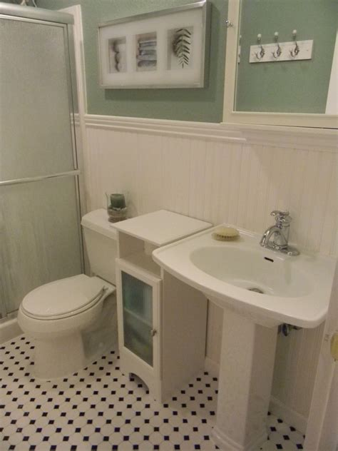 bathroom ideas with wainscoting best 90 small bathrooms with wainscoting design