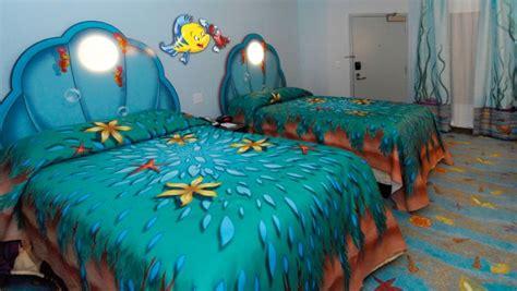 Art of animation little mermaid room
