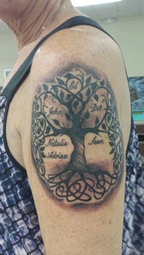 grandson tattoos trees partners and tree of on