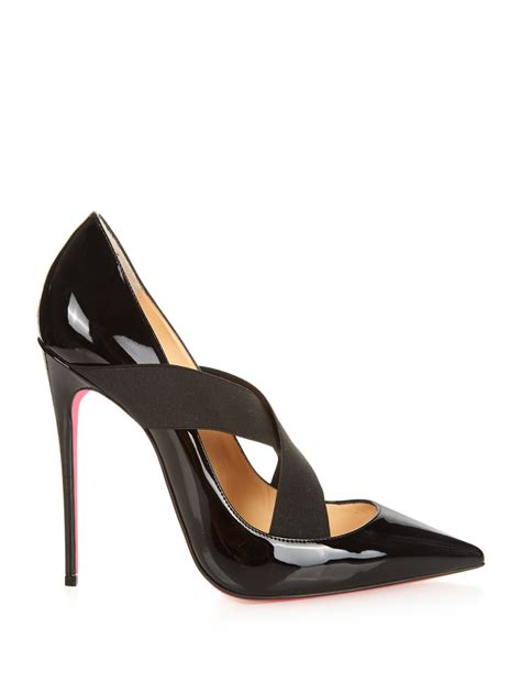 Patent Pumps lyst christian louboutin sharpstagram crossover patent