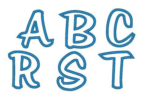 free printable applique fonts create your own monogram free joy studio design gallery