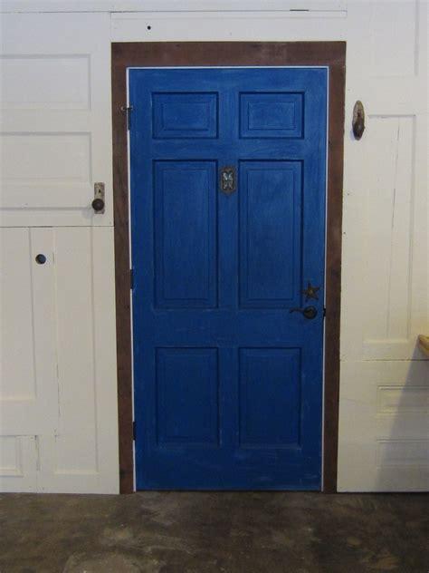 july   blue door