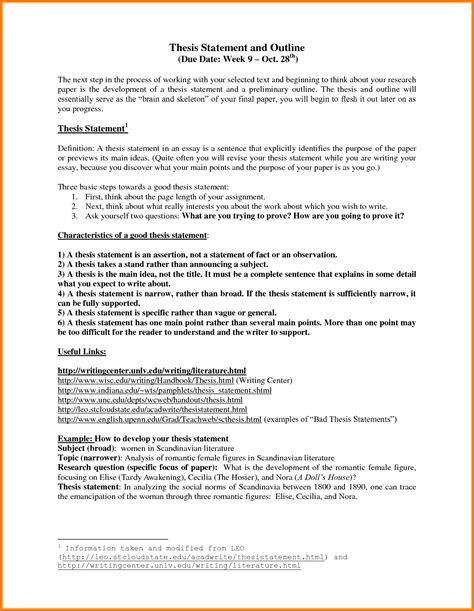 thesis statement for narrative essay write thesis statement narrative essay i need to