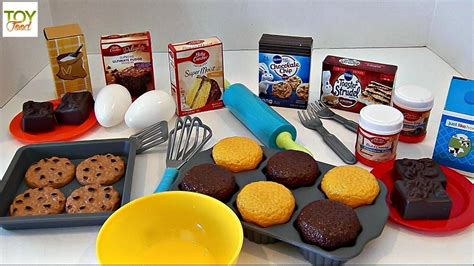 Just Like Home Kitchen Play Set Betty Crocker Baking Playset Food Learn Names