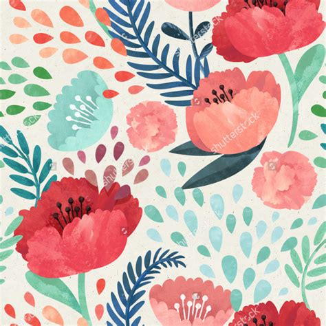 watercolor pattern floral flower watercolor pattern www pixshark com images