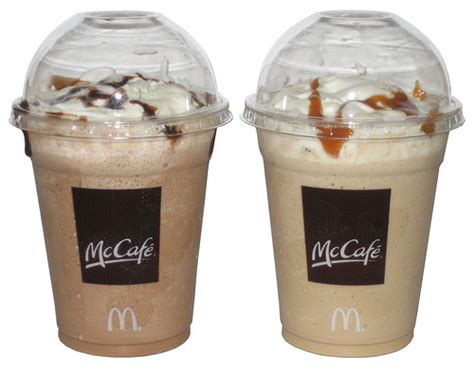 Coffee Mcd review mcdonald s frappe mocha caramel the