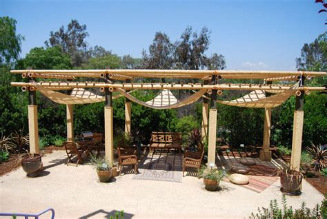 How To Make A Bamboo Patio Cover Designs Regarding Covers