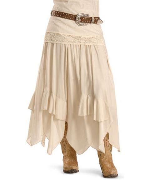 boho western skirt western fashions skirts